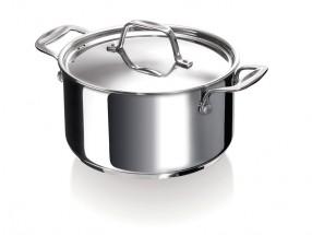 Hrniec s pokrievkou Chef Beka 12061244, nerez, 24cm