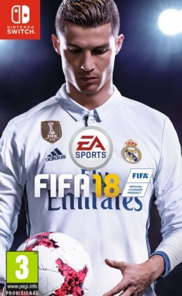 Hry na Nintendo Swit Nintendo Electronic Arts SWITCH hra FIFA 18 - NSS199