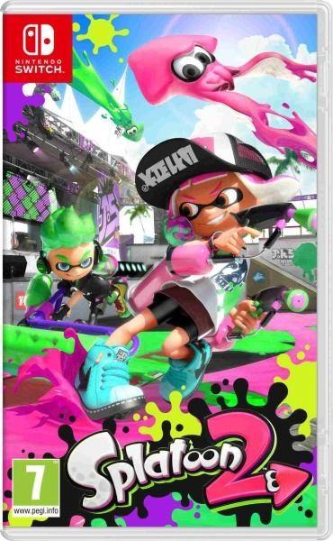 Hry na Nintendo Swit Nintendo SWITCH Splatoon 2 - NSS664