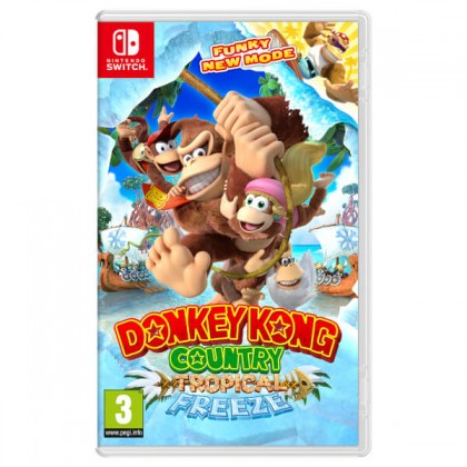 Hry na Nintendo Swit SWITCH Donkey Kong Country Freeze (NSS134)