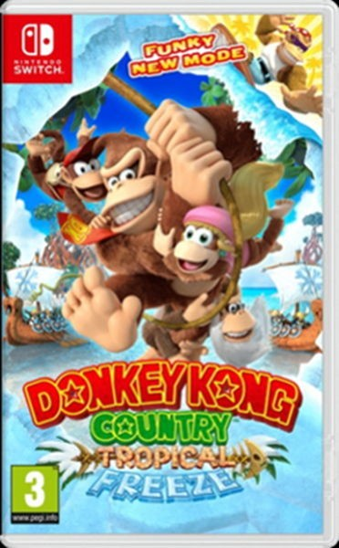 Hry na Nintendo Swit SWITCH Donkey Kong Country Freeze (NSS134)
