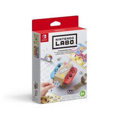 Hry na Nintendo Swit Switch - Labo Customisation Set NSS480