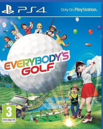 Hry na Playstation Everybody's Golf (PS4) PS719859369