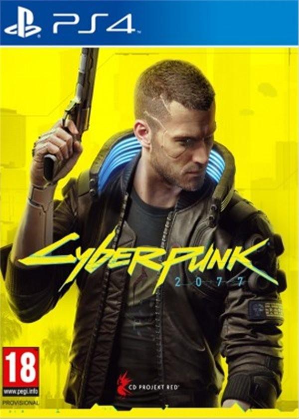Hry na Playstation PS4 hra - Cyberpunk 2077