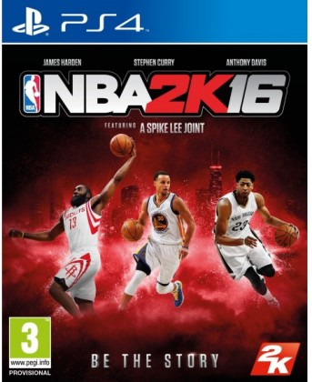 Hry na Playstation PS4 - NBA 2K16