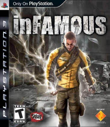 Hry na Playstation  Sony PS3 hra inFamous (ESN)