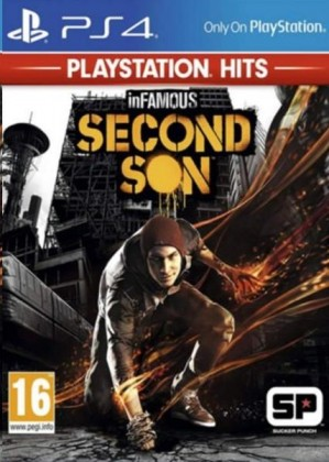 Hry na Playstation SONY PS4 hra InFamous Second Son