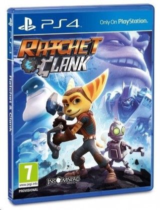 Hry na Playstation SONY PS4 hra Ratchet & Clank