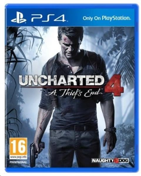 Hry na Playstation SONY PS4 hra Uncharted 4: A Thief's End