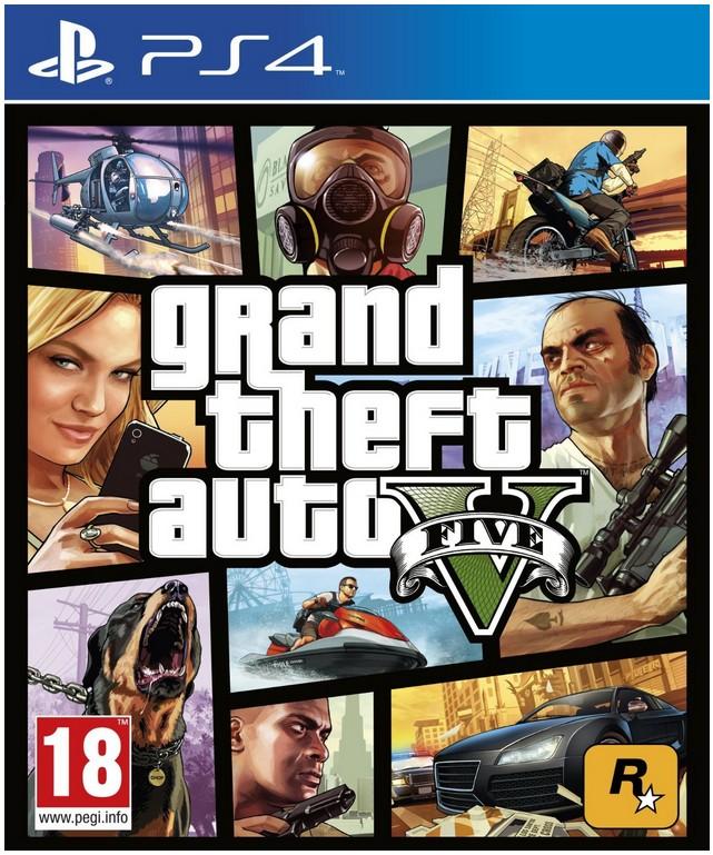 Hry na PS4 PS4 - Grand Theft Auto V