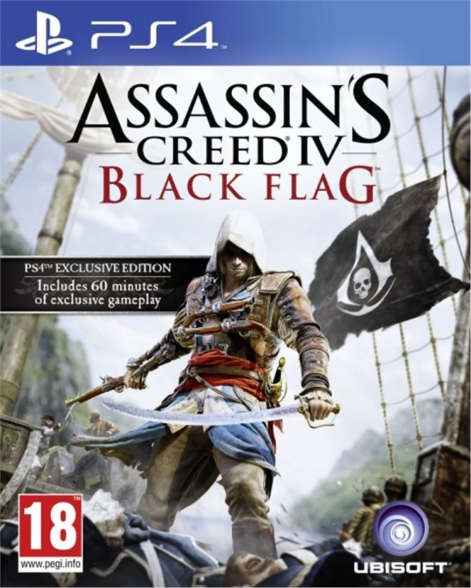 Hry na PS4 PS4 hra - Assassin's Creed: Black Flag