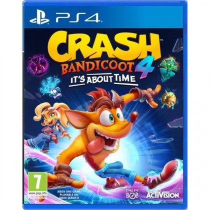 Hry na PS4 PS4 hra - Crash Bandicoot 4 It´s about time