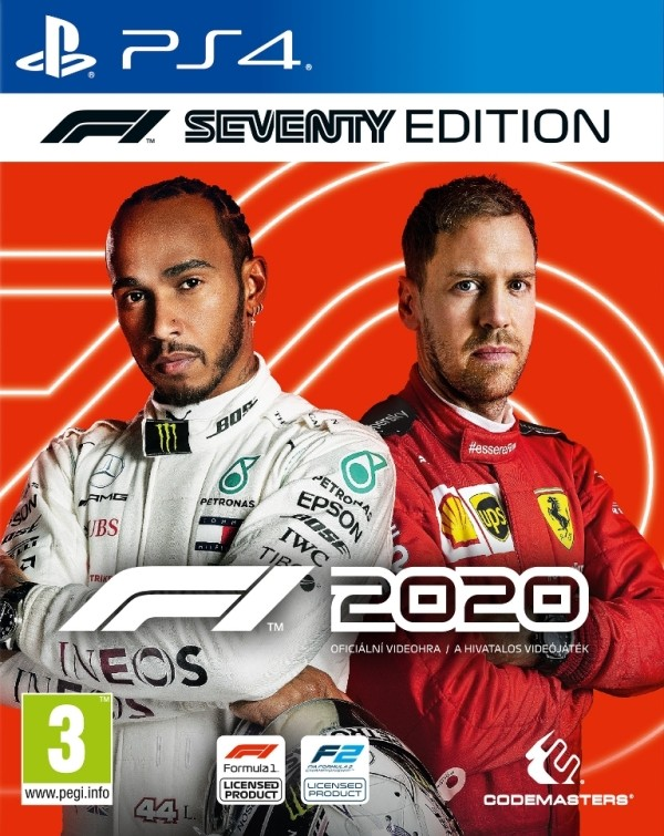 Hry na PS4 PS4 hra - F1 2020 Seventy Edition