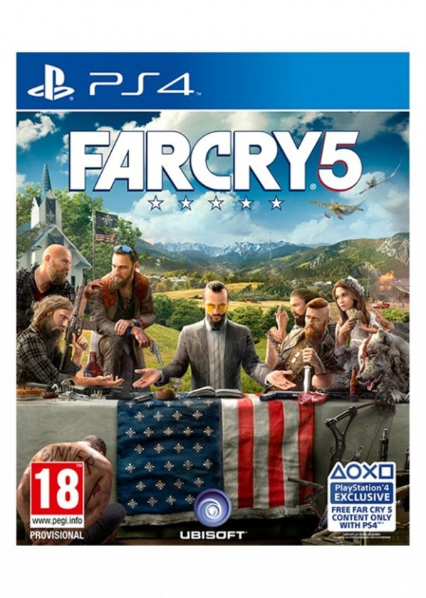 Hry na PS4 PS4 hra - Far Cry 5