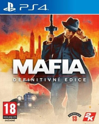 Hry na PS4 PS4 hra - Mafia: Definitive Edition