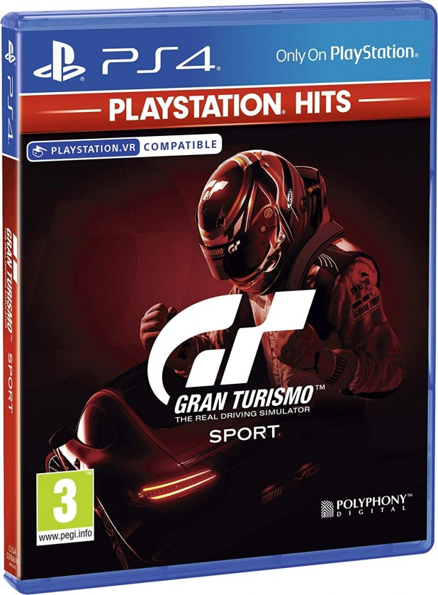 Hry na PS4 Sony PS4 hra GT Sport HITS