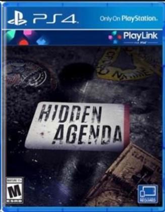 Hry na PS4 SONY PS4 hra Hidden Agenda