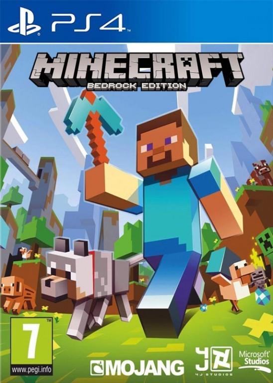 Hry na PS4 Sony PS4 hra Minecraft Bedrock