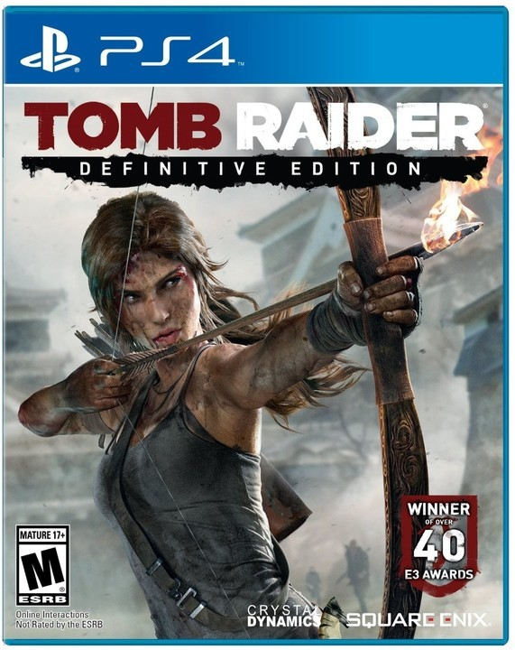 Hry na PS4 Tomb Raider: Definitive Edition (5021290060876)