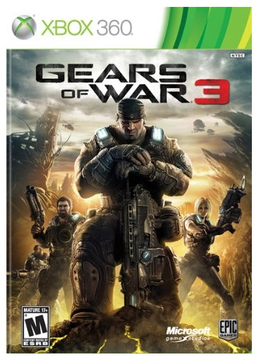 Hry na XBOX Gears of War 3 (X-Box 360), MSXS2331