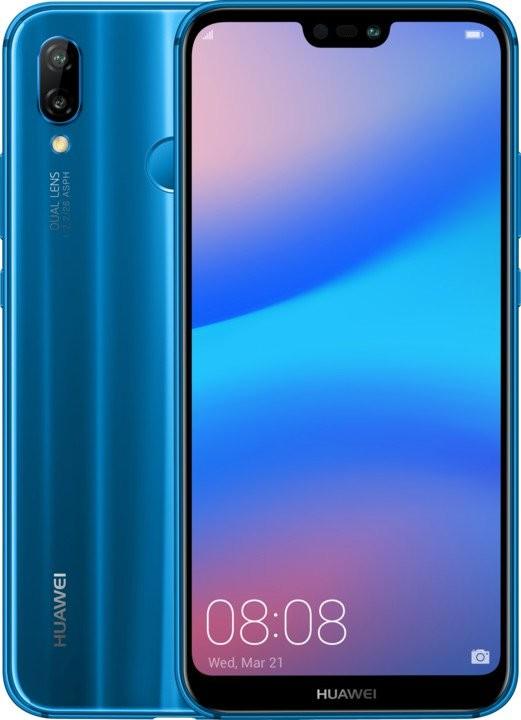 Huawei Huawei P20 Lite Dual Sim Blue POUŽITÝ, NEOPOTREBOVANÝ TOVAR