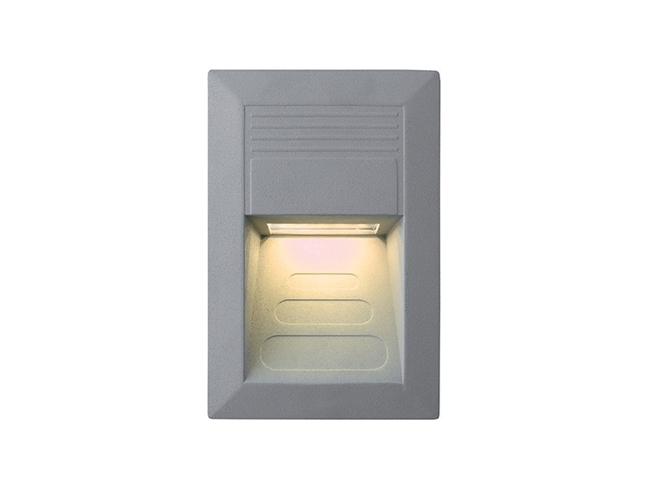 Incast - Vestavné vonkajšie svietidlo, 1W (hliník)