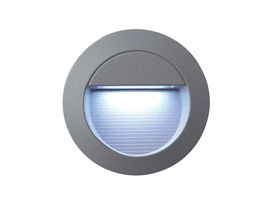 Incast - Vestavné vonkajšie svietidlo, LED, 1W, 28x29x42 (hliník)