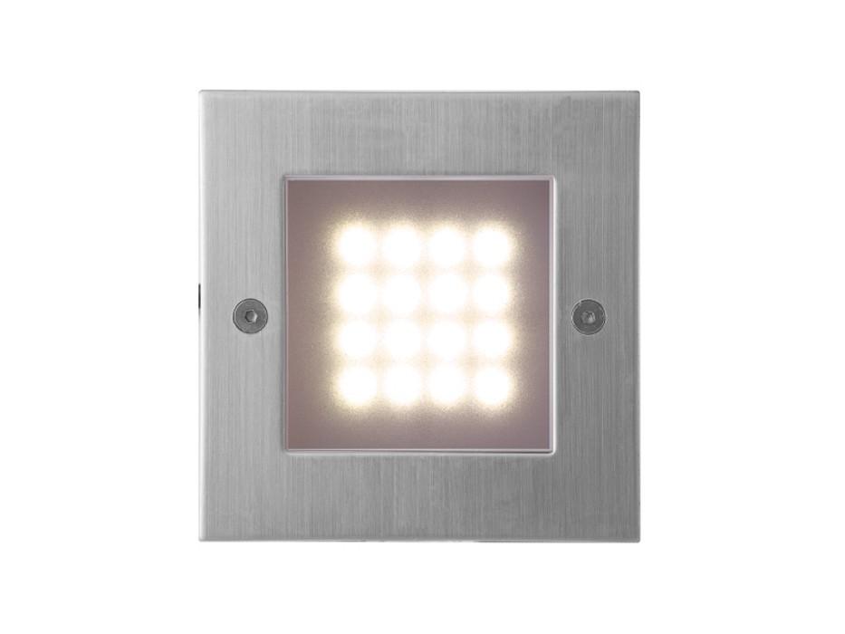 Index - Vestavné svietidlo, LED, 1W  (nerez)