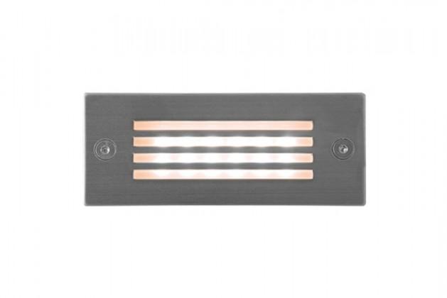 Index - Vestavné vonkajšie svietidlo, LED, 1W (nerez)
