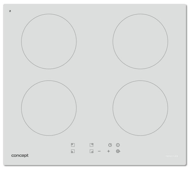 Indukčná doska CONCEPT IDV-2660wh