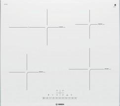 Indukční varná doska Bosch,60cm,4zóny,1xpečící,7,4kW,bílá