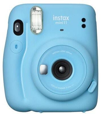 INSTAX Fotoaparát Fujifilm Instax Mini 11, modrá + fotopapier 10ks