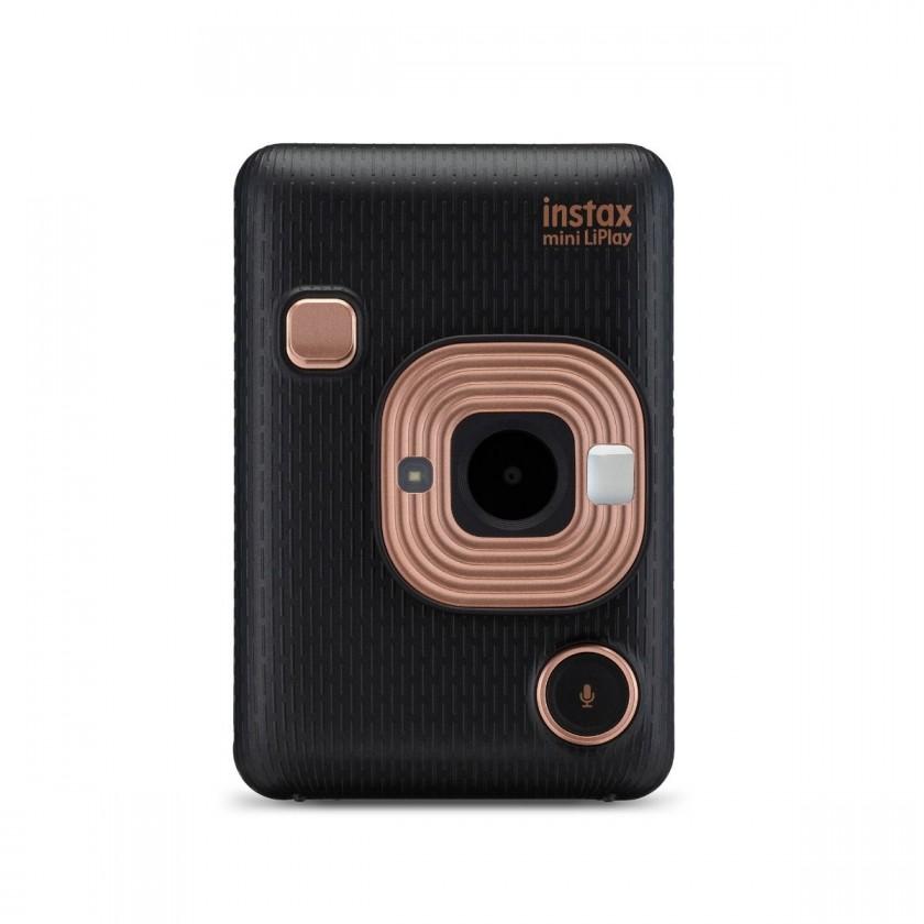 INSTAX Fotoaparát Fujifilm Instax Mini LiPlay, čierna