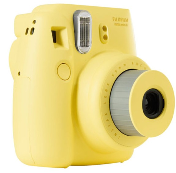 INSTAX FUJIFILM Instax MINI 8 yellow