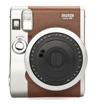 INSTAX Fujifilm Instax Mini 90, hnedý