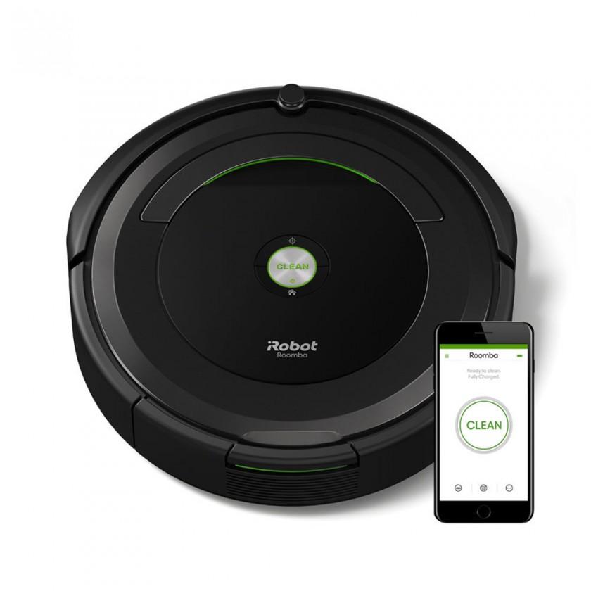 Inteligentné vysávače Robotický vysávač iRobot Roomba 696, WiFi