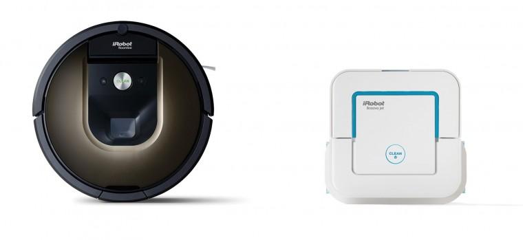 Inteligentné vysávače Robotický vysávač iRobot Roomba 980 + Braava jet 240