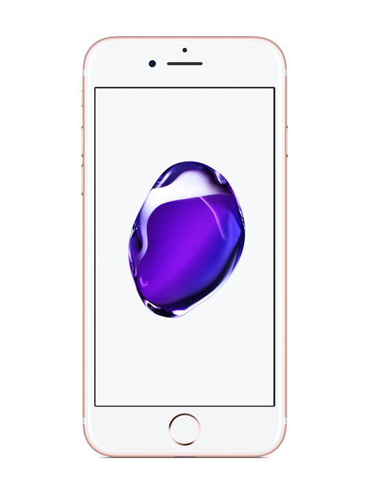 iOS Apple iPhone 7 128GB, růžově zlatá