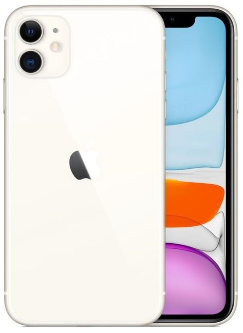 iOS Mobilný telefón Apple iPhone 11 64GB, biela