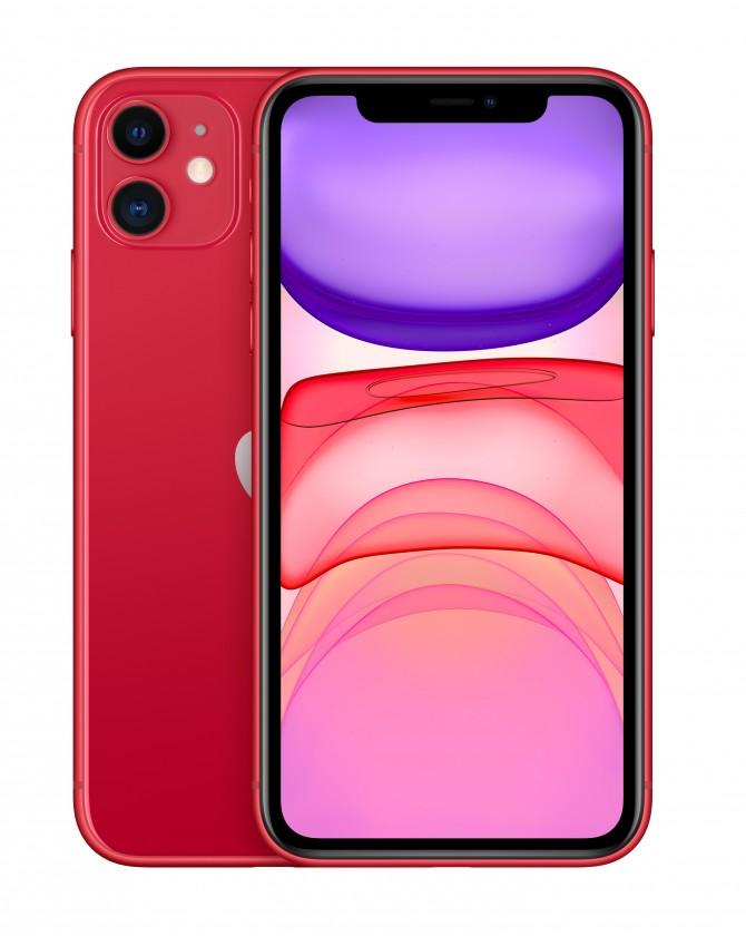 iOS Mobilný telefón Apple iPhone 11 64GB, červená