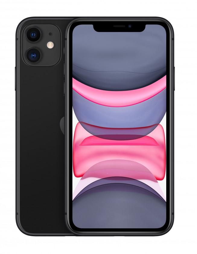 iOS Mobilný telefón Apple iPhone 11 64GB, čierna