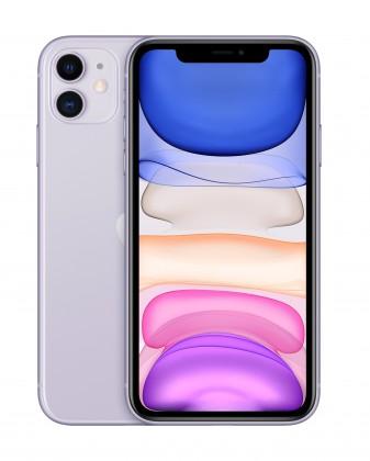 iOS Mobilný telefón Apple iPhone 11 64GB, fialová