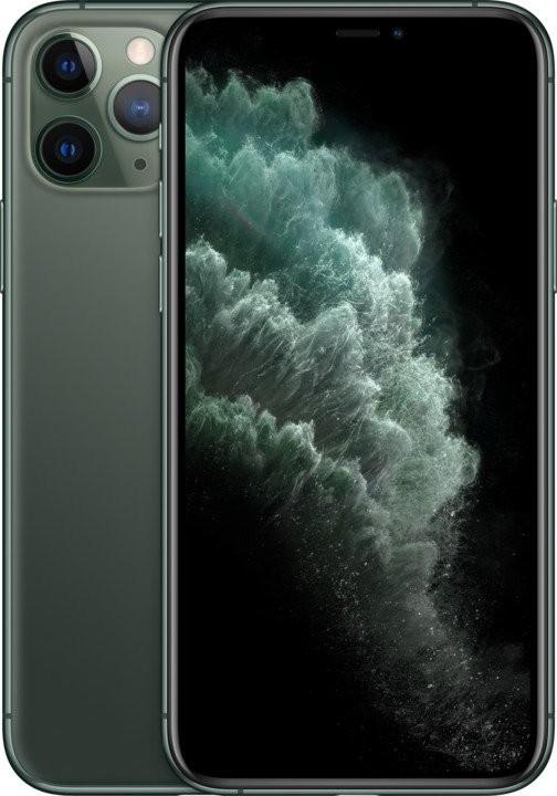 iOS Mobilný telefón Apple iPhone 11 Pro 64GB, zelená