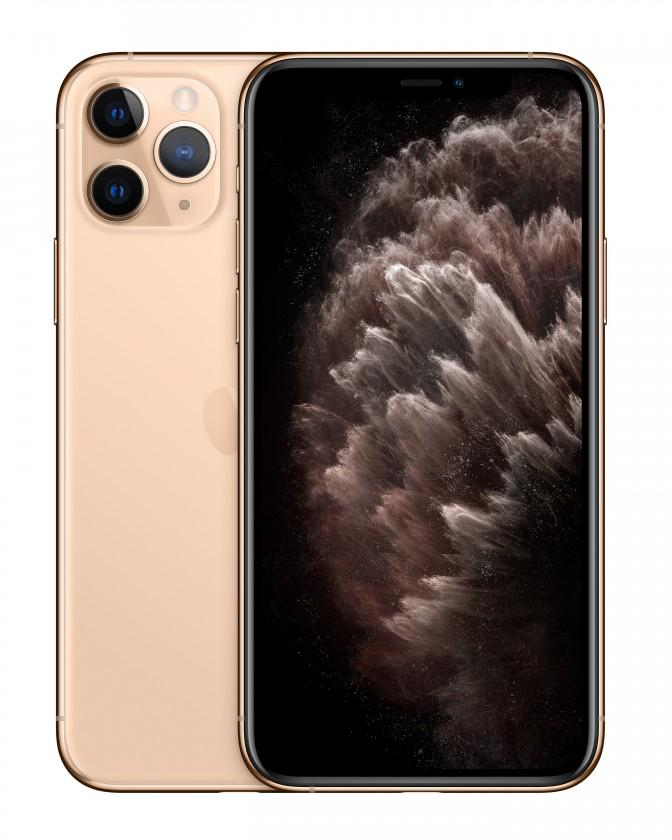 iOS Mobilný telefón Apple iPhone 11 Pro 64GB, zlatá
