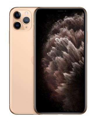 iOS Mobilný telefón Apple iPhone 11 Pro Max 64GB, zlatá