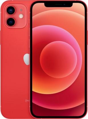iOS Mobilný telefón Apple iPhone 12 64GB, červená