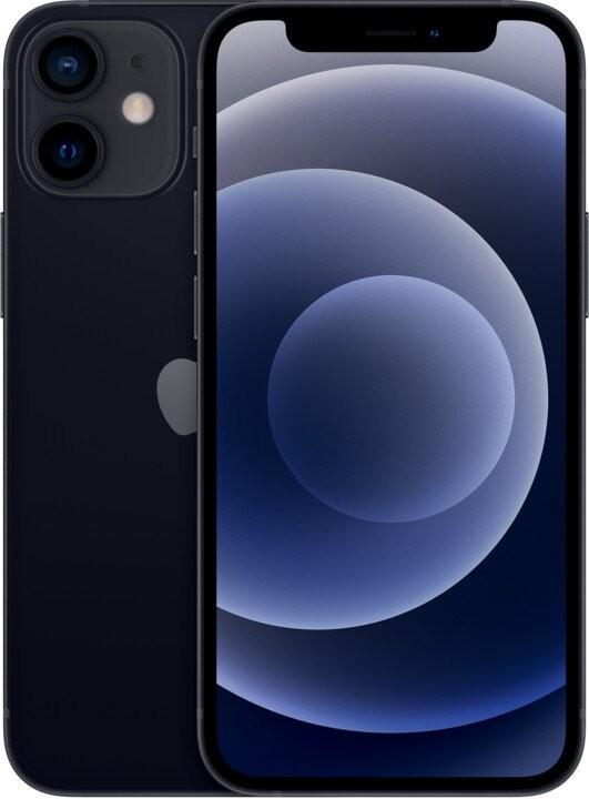 iOS Mobilný telefón Apple iPhone 12 mini 64GB, čierna