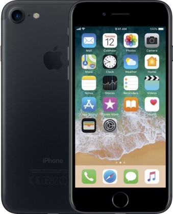 iOS Mobilný telefón Apple iPhone 7 128GB, čierna