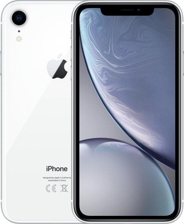 iOS Mobilný telefón Apple iPhone XR 128GB, biela