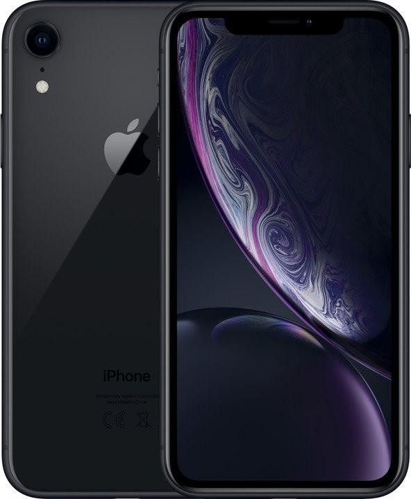 iOS Mobilný telefón Apple iPhone XR 64GB, čierna